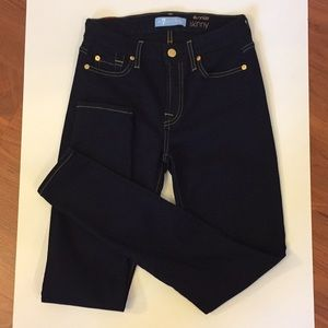 7 For all Mankind b(air) Denim Skinny Jeans Sz 26